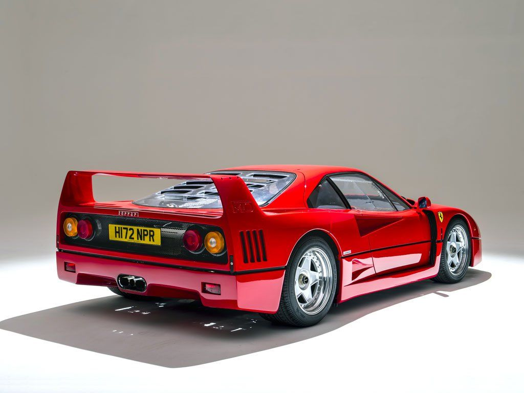 ferrari f40 uit 1989 met weinig kilometers klassiekerweb. Black Bedroom Furniture Sets. Home Design Ideas
