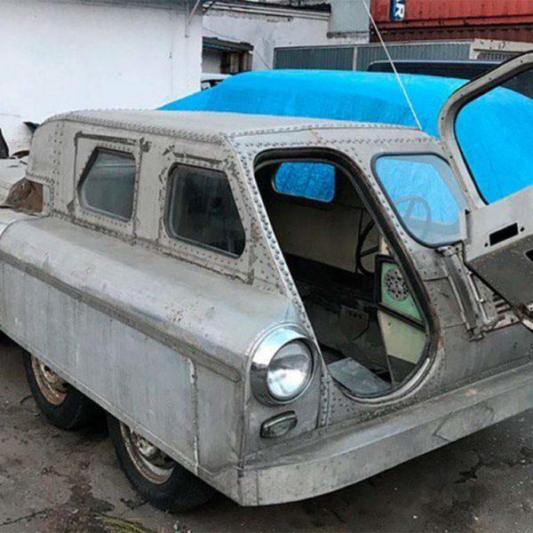 sovjet 8 wheel amfibievoertuig gevonden
