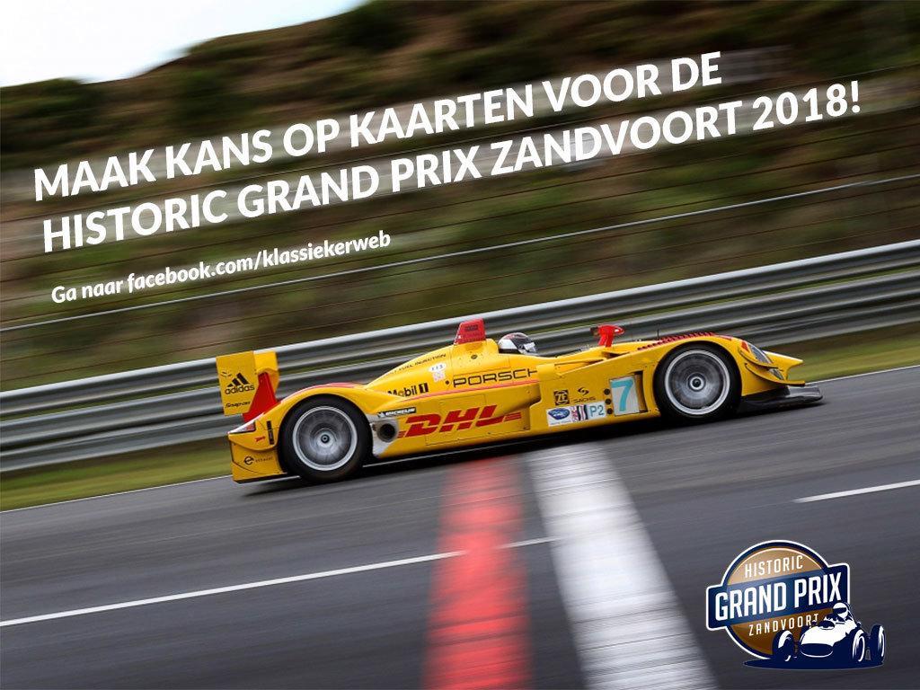 win kaarten voor de historic grand prix zandvoort 2018