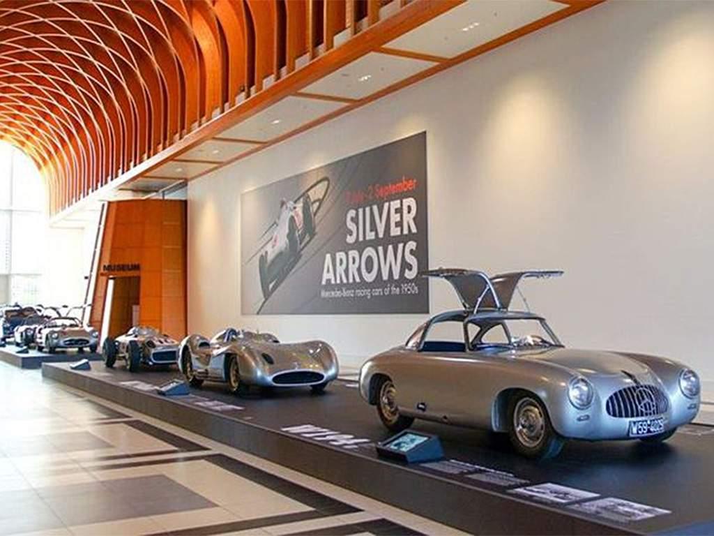 Mercedes Silver Arrows Louwman museum den haag
