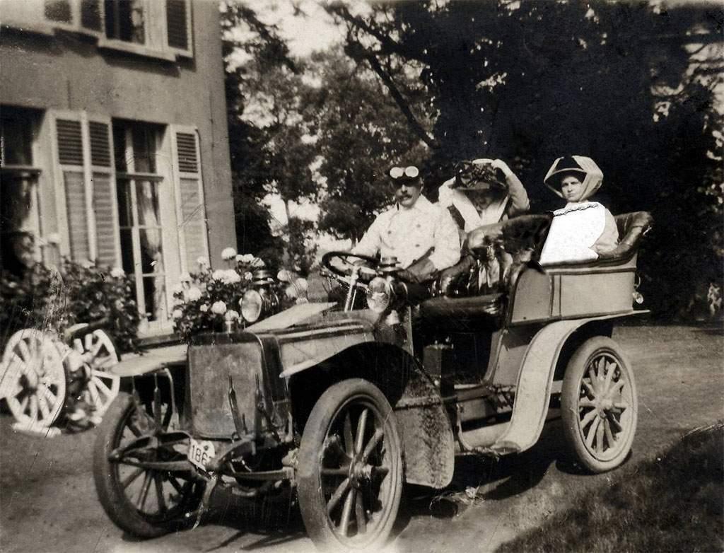 klassieke Minerva auto