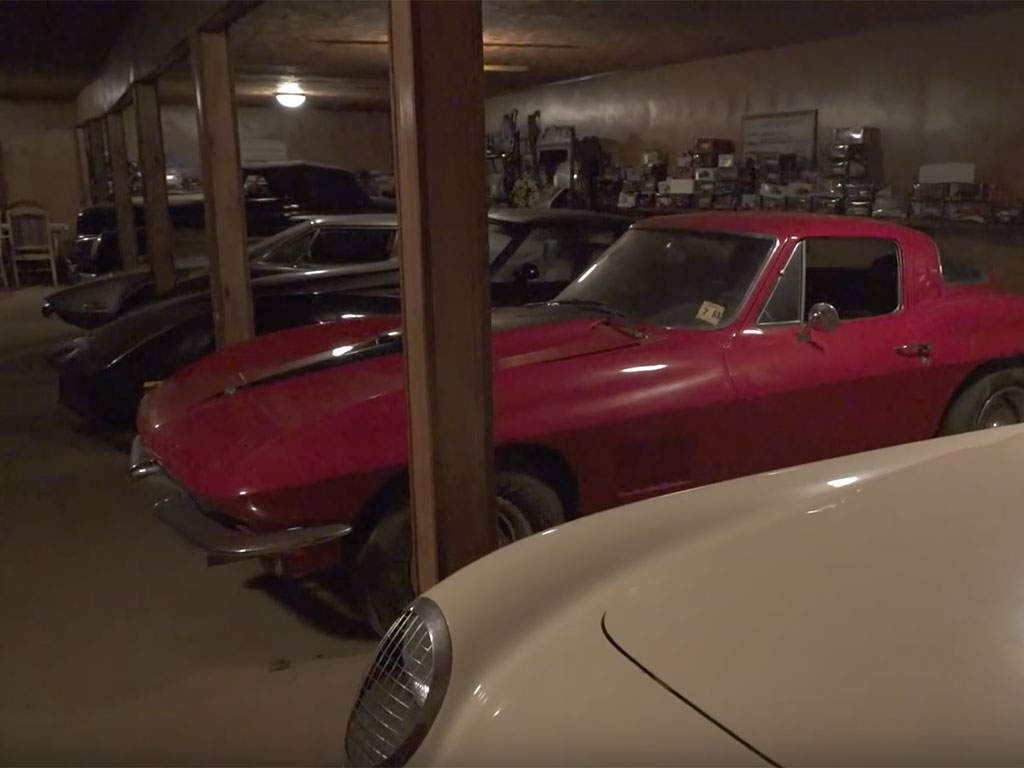 huge barn find in de VS