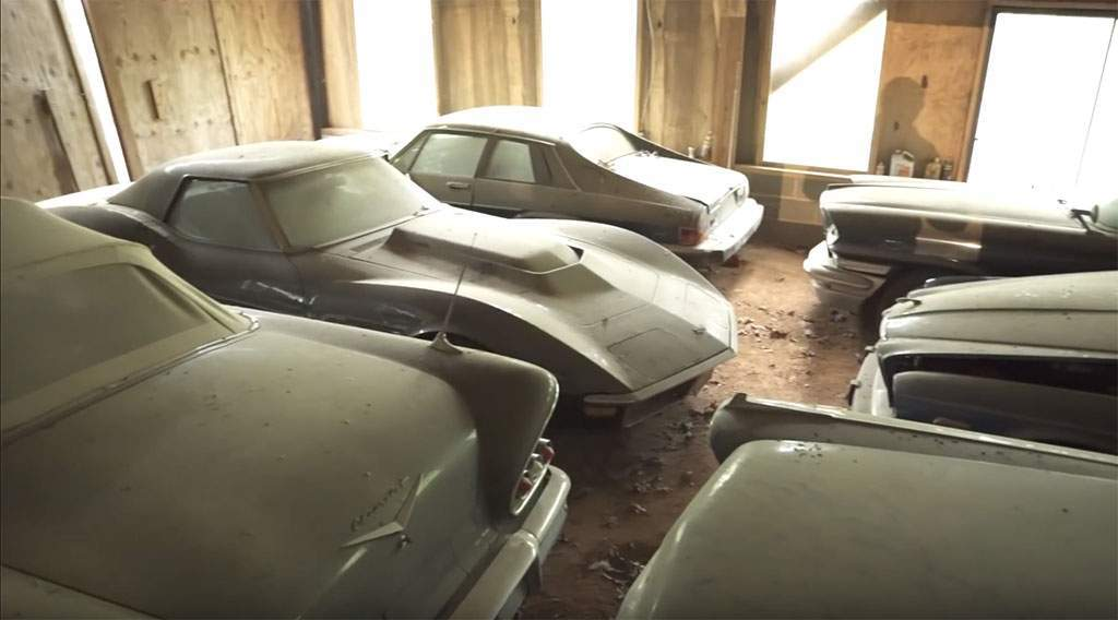 barn find van meer dan 100 auto's in de VS