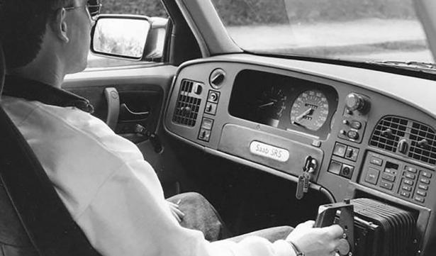 saab 9000 joystick besturing prometheus project eind jaren tachtig