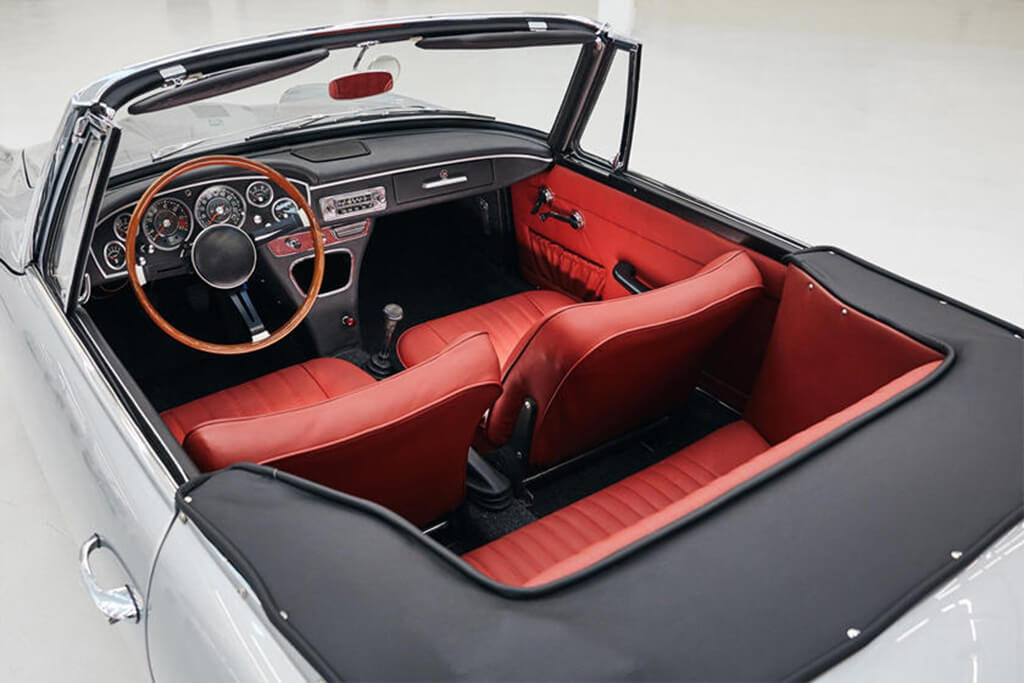 interieur bmw 1600 gt convertible