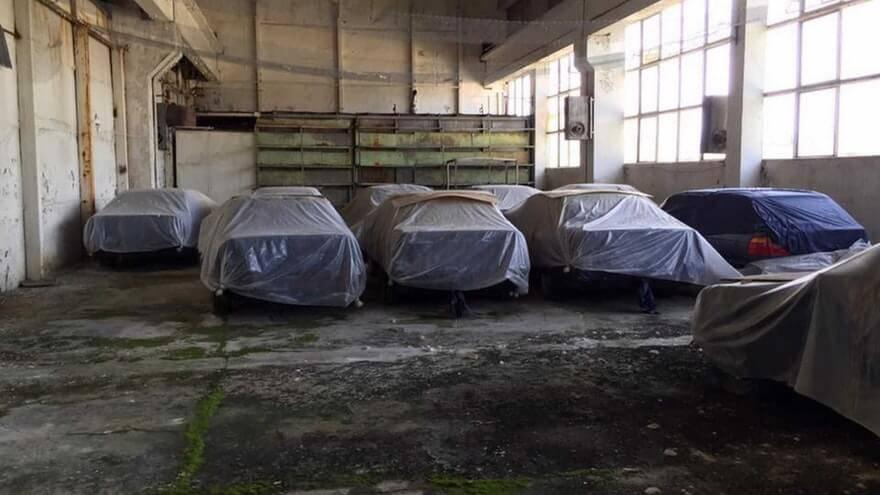 barnfind E34 modellen BMW's gevonden in Bulgarije