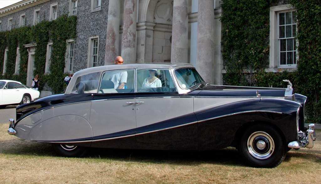 rolls-royce silver wraith hooper 1956
