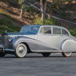 rolls-royce silver wraith saloon park ward 1951