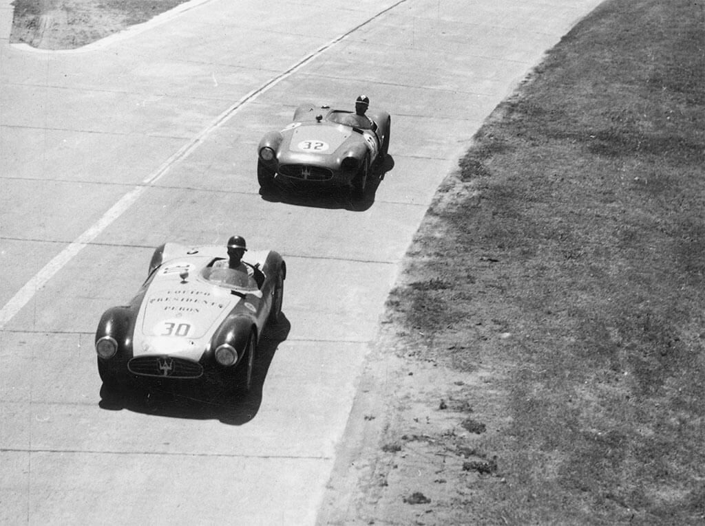 maserati A6GCS klassieke race