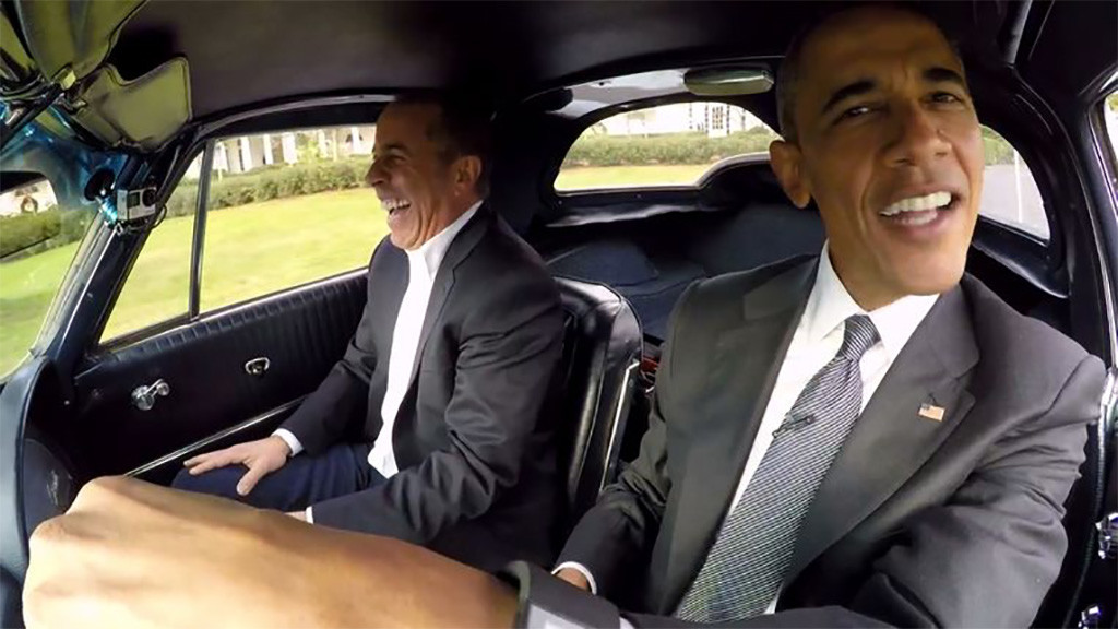comedians in cars getting coffee met Jerry Seinfeld