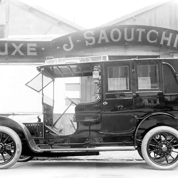 22 CV Berliet met Saoutchik body uit 1907