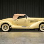 Auburn 851 speedster boattail uit 1935