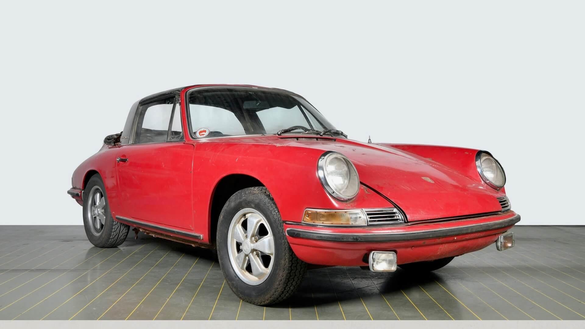 restauratieproject van Porsche