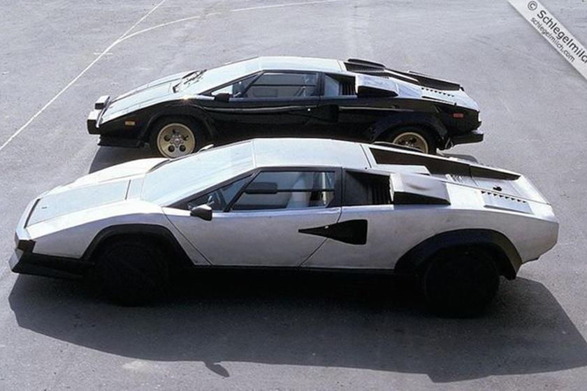 Lamborghini Countach Evoluzione concept car