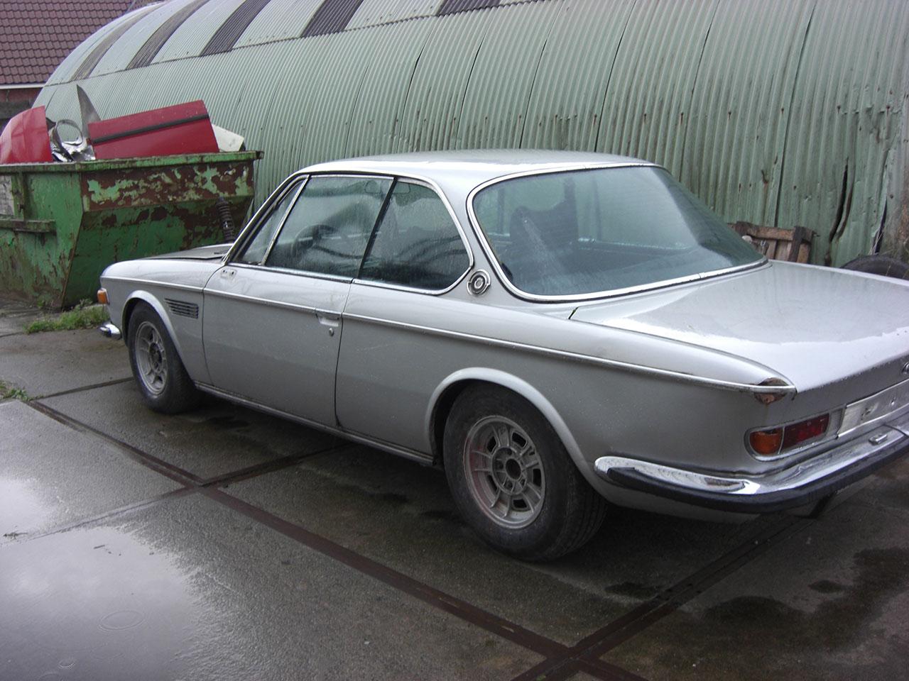 BMW E9 restauratieproject